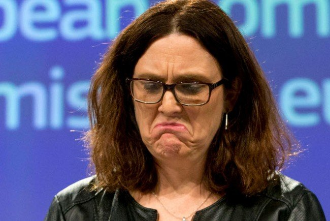 Malmström: Amerika soll Sache nochmals überdenken