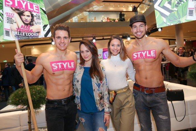 Im Einkaufszentrum Fischapark wurde zum Fashion Day geladen.
