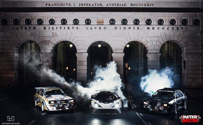 Die neue Ausstellung widmet sich dem Motorsport.