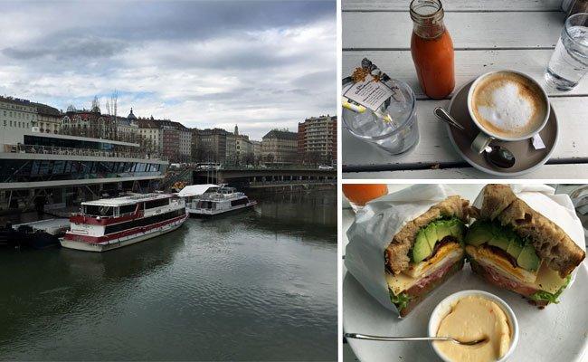 """Das """"Motto am Fluss"""" liegt direkt am Wiener Donaukanal."""
