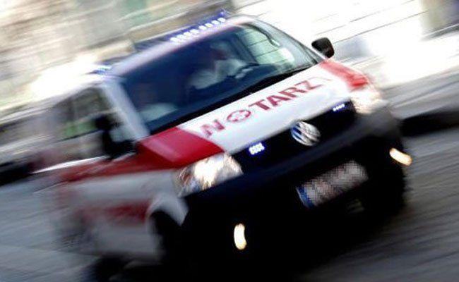 Der Mann wurde bei dem Unfall verletzt.