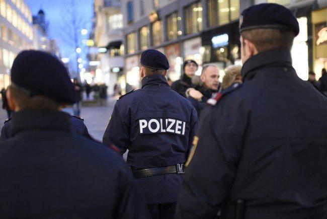 Polizisten rückten aus, um den Streit zu schlichten.