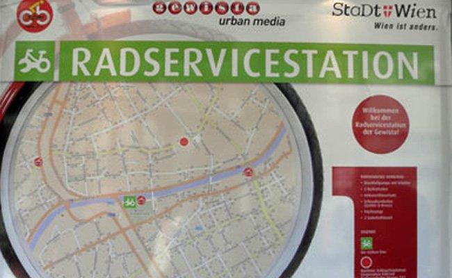 Drei Bezirke erhalten neue Radservicestationen