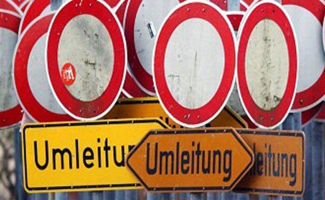 Die Aßmayergasse in Wien wird gesperrt.