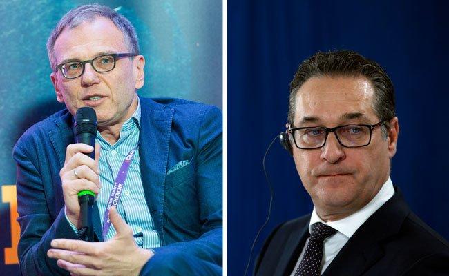 FPÖ: Hans-Christian Strache entschuldigt sich bei ORF-Moderator