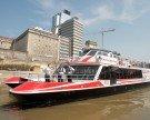 Twin City Liner eröffnet am Freitag: Von Wien nach Bratislava für einen guten Zweck