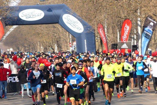 Die Winterlaufserie des Vienna City Marathons geht in die letzte Runde.