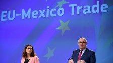 SPÖ-Politiker wollen kein EU-Mexiko-Abkommen