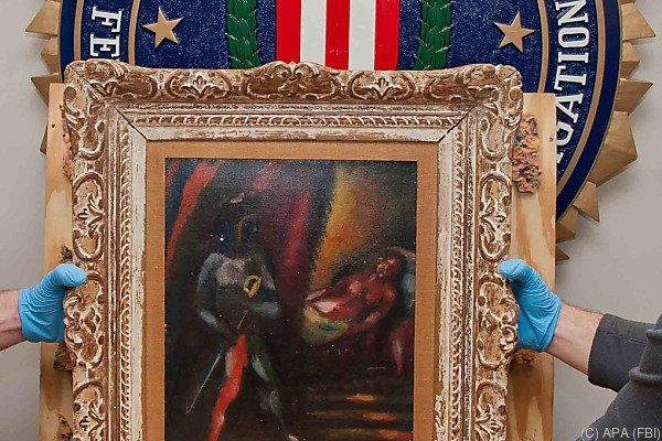 """Das Gemälde  """"Othello und Desdemona"""" von Chagall"""