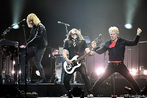 Bon Jovi im März bei einem Konzert in Las Vegas