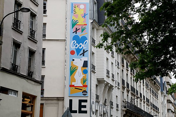 Die Abbildung stammt vom französischen Graffitikünstler Andre Saraiva