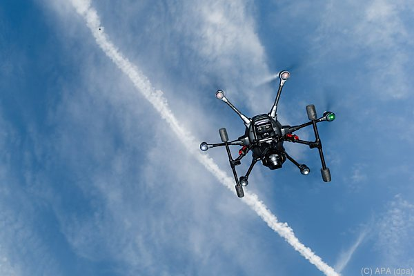 Die Drohnen sollen Lagebilder aus der Luft liefern
