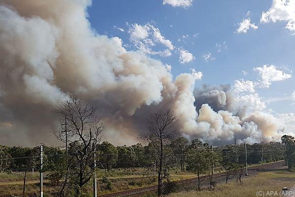 Buschfeuer nahe Sydney