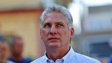 Diaz-Canel als Präsident Kubas vorgeschlagen