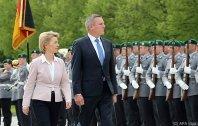Kunasek als erster FPÖ-Minister in Berlin empfangen