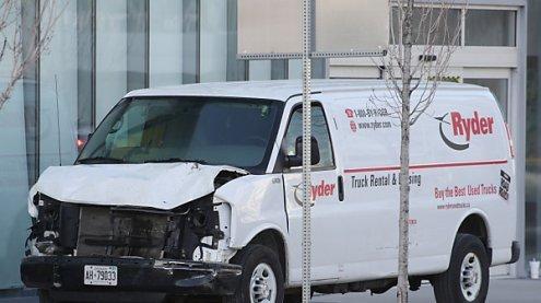 Eine Todesfahrt mit Lieferwagen erschüttert Toronto: Motiv unklar