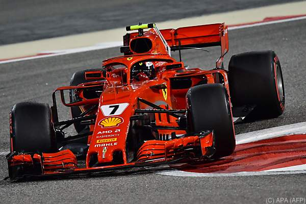 Der Ferrari-Pilot war uneinholbar