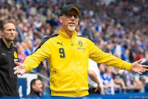 Peter Stöger kommt immer mehr in Bedrängnis