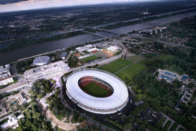 Stadt und Bund tauschten sich über die Zukunft des Happel-Stadions aus.