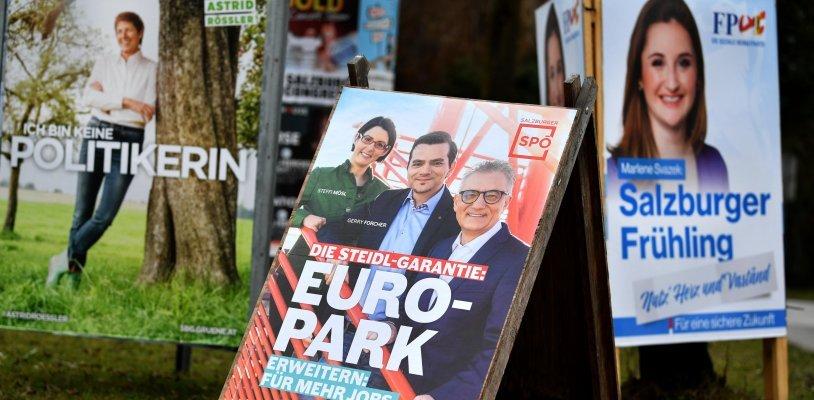 Live von der Landtagswahl in Salzburg
