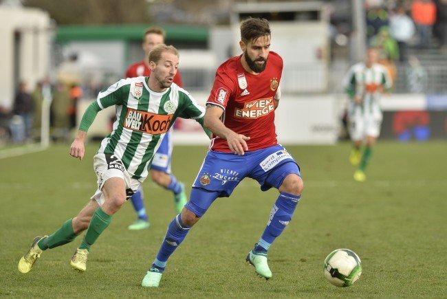 Rapid konnte sich klar gegen Mattersburg durchsetzen.
