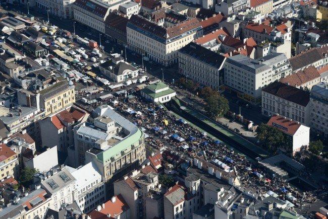 Am Wiener Naschmarkt findet Anfang April der erste Mottomarkt statt.