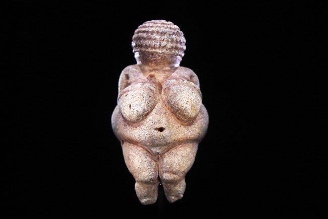 Die Venus von Willendorf hat Rhythmus im Blut.