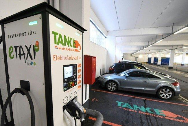Stromtanken ist ab sofort an zehn Standorten in Floridsdorf möglich.