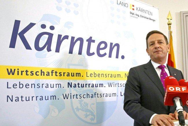 Kärntner ÖVP- Chef Benger geht