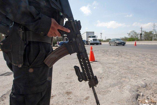 Schießerei in Mexiko: Sechs Menschen starben im Kreuzfeuer