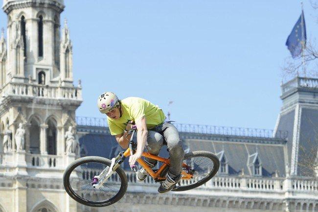 Das Bike-Festival fand am 15. April in Wien statt.