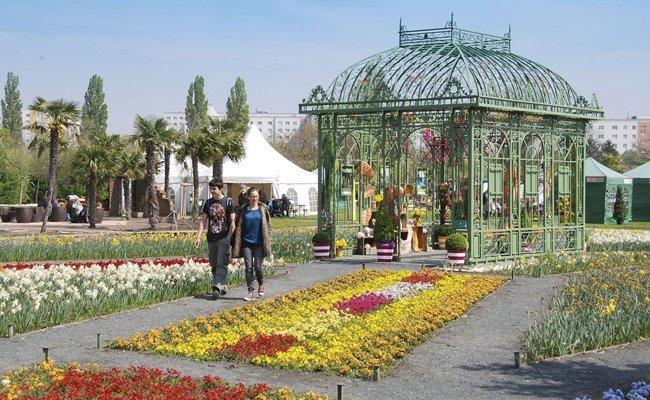 Die Wiener Kleingarten-Messe findet von 20. bis 22. April 2018 statt.