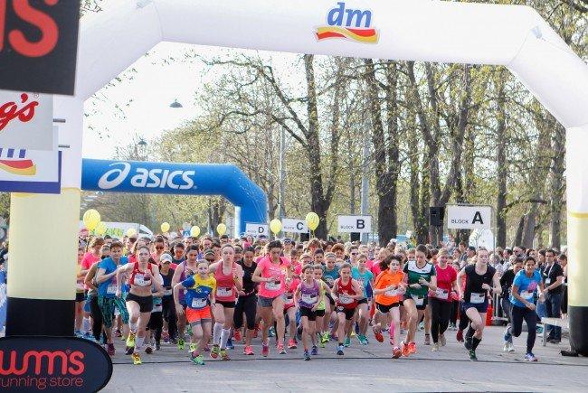 1.613 Frauen nahmen am Mittwoch am Frauen Fun Run im Wiener Prater teil.