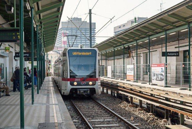 Die U6 wird wegen Gleisbauarbeiten teilweise gesperrt