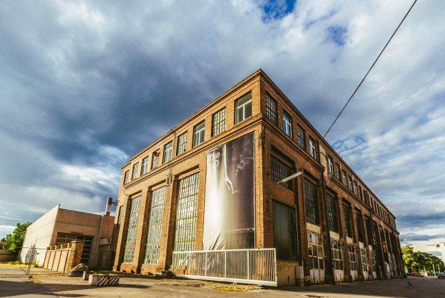 In der METAStadt wird heute erstmals auch Kunst ausgestellt.