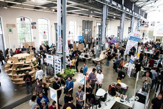 Bei der Maker Faire Vienna werden in der Wiener METAStadt bis zu 15.000 Besucher erwartet.