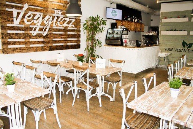 Ein neues Veggiezz-Restaurant eröffnet in Wien-Favoriten.