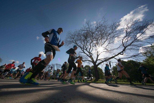 Wien-Marathon 2018 Salaheddine Bounasser überrascht beim Wien-Marathon