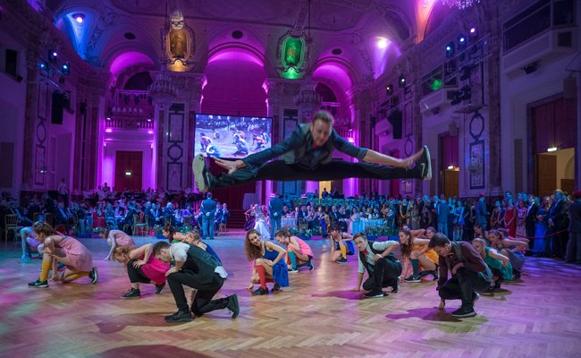 Der Dancer against Cancer Frühlingsball fand in der Wiener Hofburg statt.