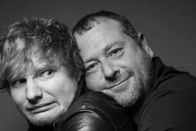 Ed Sheerans Bodyguard wird zum Internet-Star.