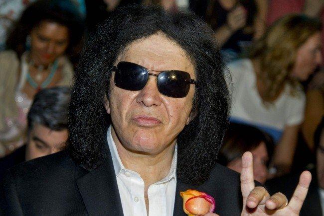 Gene Simmons von Kiss beehrt Wien mit einem Auftritt.