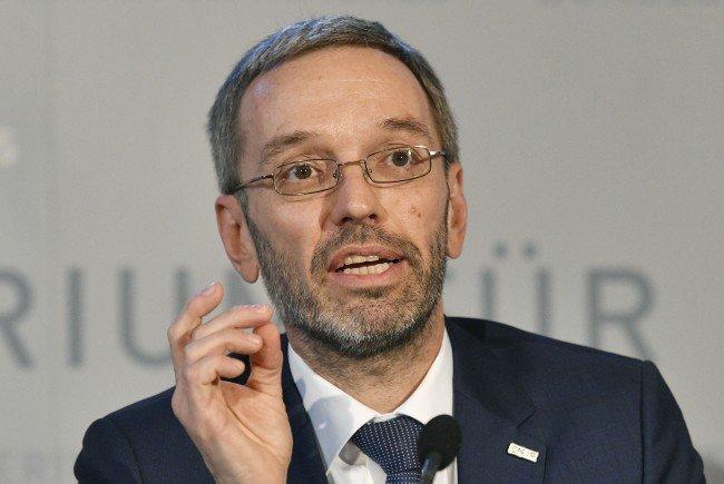 Laut Innenminister Herbert Kickl soll das Fremdenrecht deutlich verschärft werden.