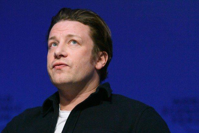 Jamie Oliver stattete am Freitag Wien einen Besuch ab.