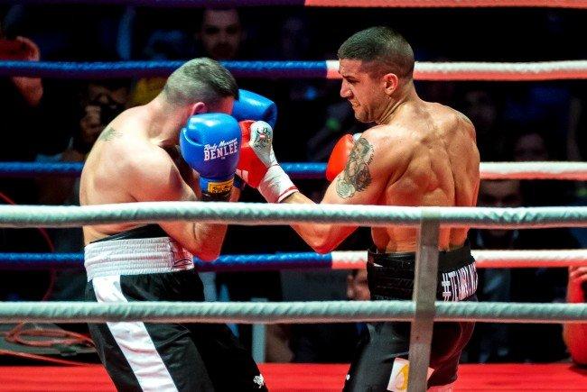 Gelungenes Comeback im Boxring: Marcos Nader siegt.
