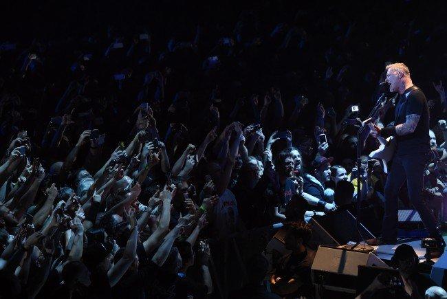Metallica boten ein Konzert der Superlative in der Wiener Stadhalle.