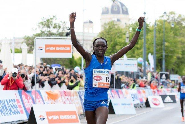 Im Vorjahr konnte Kiprop den Wien-Marathon in einer beeindruckenden Zeit gewinnen.