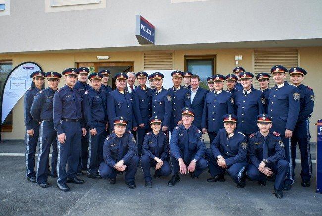 Heute wurde eine neue Polizeiinspektion in der Donaustadt eröffnet.