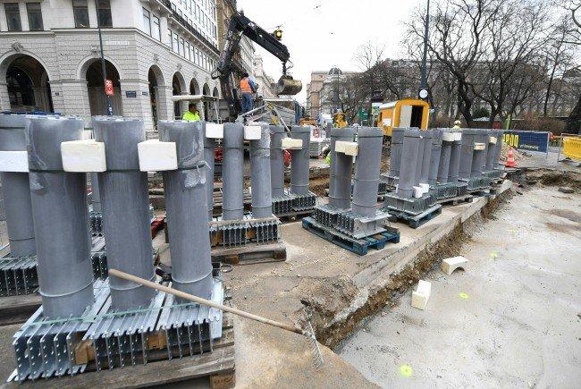 Wien ist auf der Suche nach Alternativen zu Pollern.