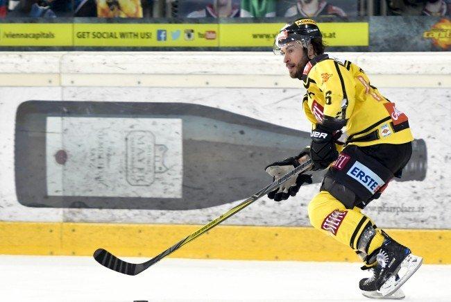 Rafael Rotter verlängert bei den Vienna Capitals.