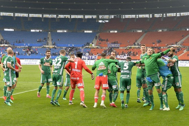 Mit dem 4:0 gegen die Wiener Austria hat Rapid Selbstvertrauen getankt.